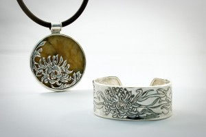 kiku pendant and cuff_web