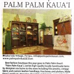 Palm Palm Kaua'i - Best Fashion Boutique