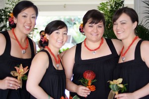 Mari's Bridesmaids